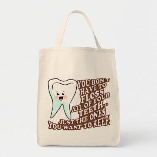 Dentist Orthodontist Periodontist Canvas Bag