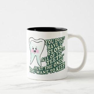 Dentist Orthodontist Periodontist Two-Tone Coffee Mug