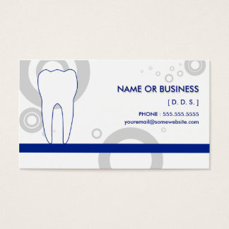 dentist Os Business Card
