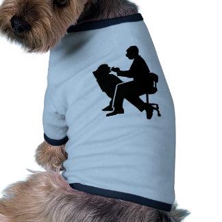 Dentist patient dog clothes