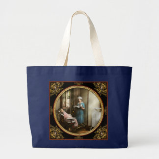 Dentist - Patient's is a virtue 1920 Large Tote Bag