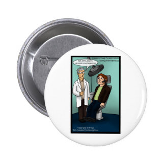 Dentist Peroxide Bluetooth? Funny Gifts Cards Tees Pinback Button
