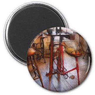 Dentist - Physically demanding work 2 Inch Round Magnet