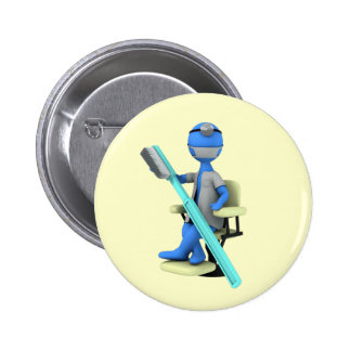 Dentist Pinback Button