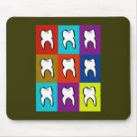Dentist Popart Gifts Mouse Pad