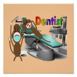 Dentist Poster Customizable--Unique Gift