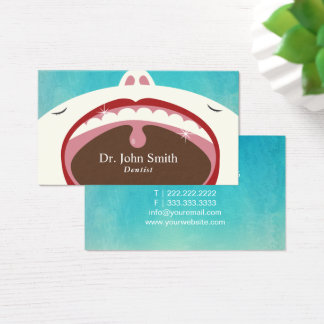 Dentist Professional Child Dental Health Business Card