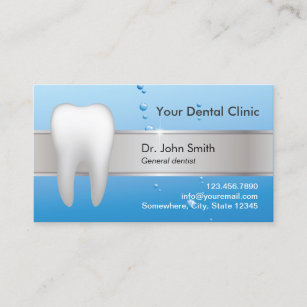 Dental business cards templates zazzle dentist professional dental appointment reheart Gallery