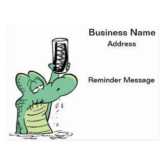 Dentist Reminder Cartoon Card