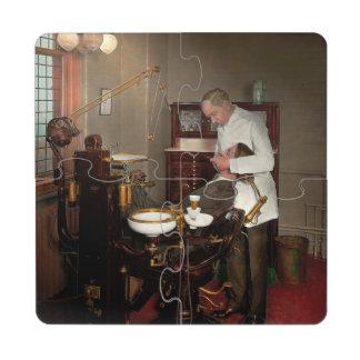 Dentist - Roy O Woodruff Dentist 1924 Puzzle Coaster
