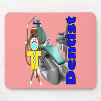 Dentist Sock Monkey--Adorable Mouse Pad