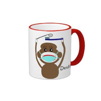 Dentist Sock Monkey  Coffee Mug