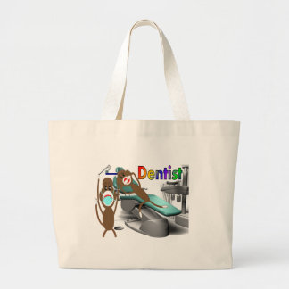 Dentist Sock Monkey Gifts--Unique Bags