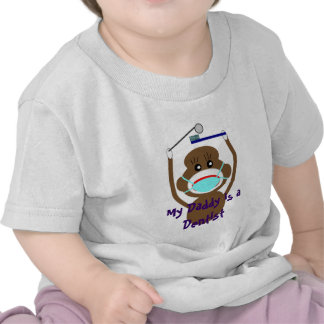Dentist Sock Monkey Shirts and Gifts--Adorable