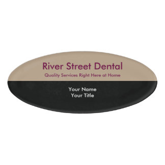 Dentist Staff Name Tag