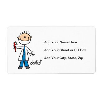 Dentist Stick Figure Label