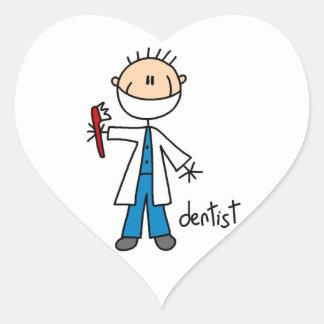 Dentist Stick Figure Stickers