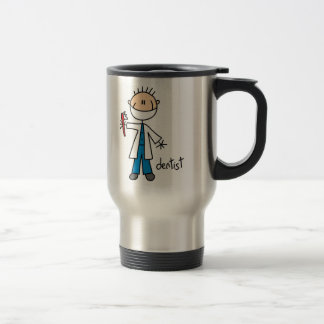 Dentist Stick Figure Travel Mug