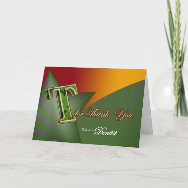 dentist cards  zazzle