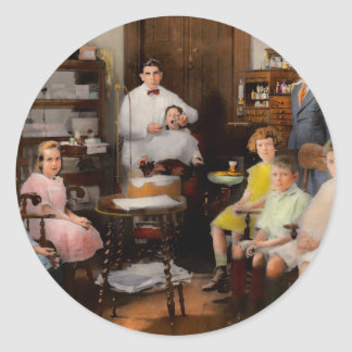Dentist - The family practice 1921 Classic Round Sticker
