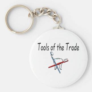 Dentist Tools of the Trade Keychain
