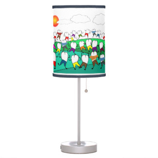 Dentist Tooth Art Table Lamp