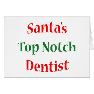 Dentist Top Notch Card
