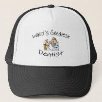 Dentist Worlds Greatest Trucker Hat