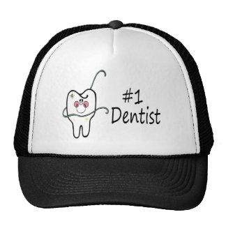 Dentista #1 gorras de camionero