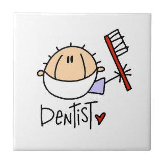 Dentista Azulejo Cuadrado Pequeño