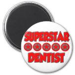 Dentista de la superestrella iman de nevera