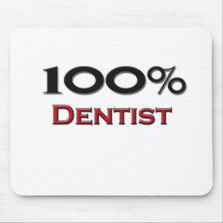 Dentista del 100 por ciento alfombrillas de raton