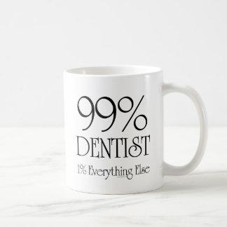 Dentista del 99% taza clásica