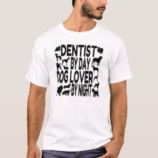 Dentista del amante del perro playera