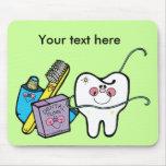 Dentista día 6 de marzo alfombrillas de raton