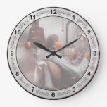 Dentista - esperar al dentista reloj de pared