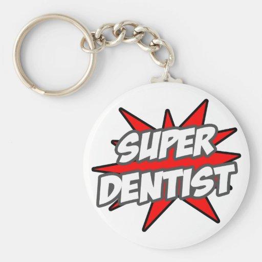 Dentista estupendo llaveros