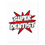 Dentista estupendo postales