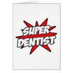 Dentista estupendo tarjeton