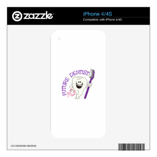 Dentista futuro iPhone 4S skin