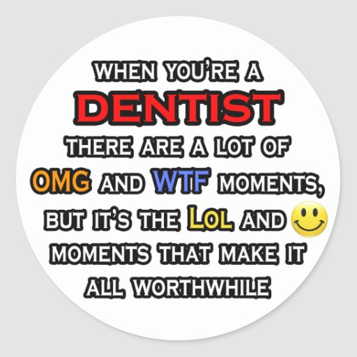 Dentista… OMG WTF LOL Etiqueta