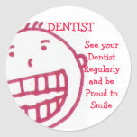 Dentista, pegatina