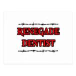 Dentista renegado postales