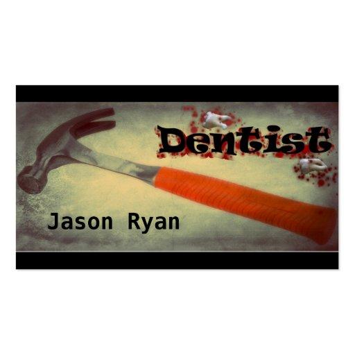 Dentista Tarjetas De Visita