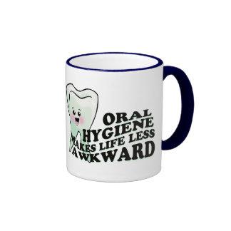 Dentistas divertidos y Prosthodontists Tazas De Café