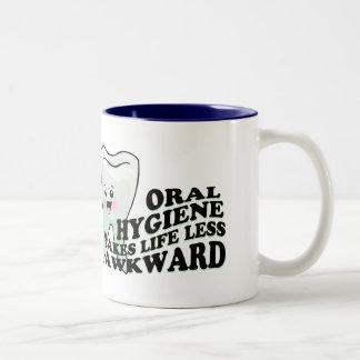 Dentistas divertidos y Prosthodontists Taza De Café