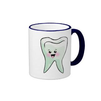 Dentistas e higienistas dentales taza de café