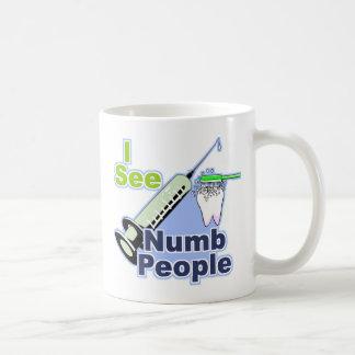 Dentistas e higienistas divertidos taza de café