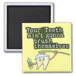 Dentistas e higienistas iman
