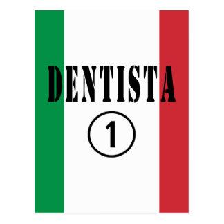 Dentistas italianos: Uno de Dentista Numero Tarjetas Postales